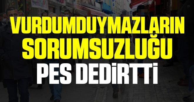 Samsun'da Vurdumduymazlarınsorumsuzluğu pes dedirtti