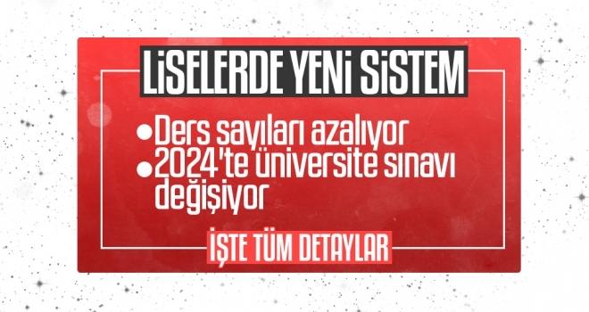 Milli Eğitim Bakanı Ziya Selçuk'tan yeni eğitim sistemi açıklaması