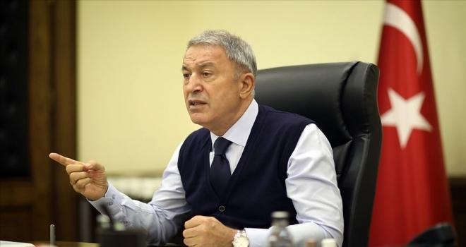 Milli Savunma Bakanı Akar: Ermenistan cephende kahraman Azerbaycan ordusu karşısında hüsrana büyük uğradı