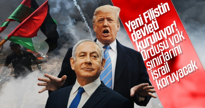 Yeni Filistin Devleti Maddeleri Sızdı! Ordusu Yok Sınırlarını İsrail Koruyacak