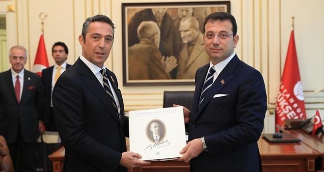Fenerbahçe ve Basın Konseyi'nden İmamoğlu'na Tebrik Ziyareti