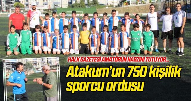 Atakum Belediyespor'un 750 kişilik sporcu ordusu