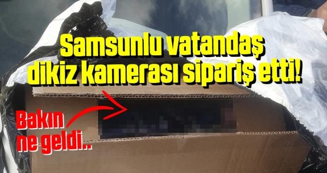 Samsunlu Vatandaş Dikiz Kamerası Sipariş Etti! Bakın ne Geldi...
