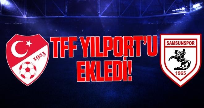 TFF Yılport'u Ekledi!