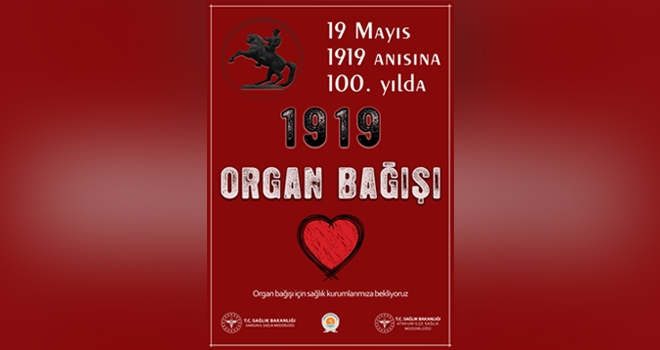 1919 Kişi Organ Bağışçısı Oldu