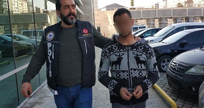 Samsun'da Uyuşturucu ticaretinden gözaltına alındı