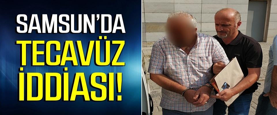 Samsun'da Tecavüz iddiasına gözaltı