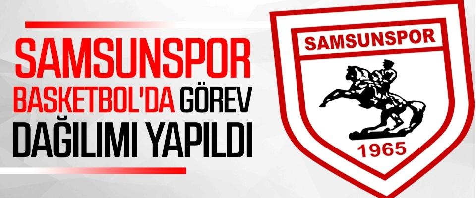 Samsunspor Basketbol'da görev dağılımı yapıldı