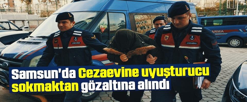Samsun'da Cezaevine uyuşturucu sokmaktan gözaltına alındı
