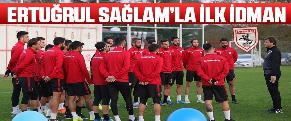 Samsunspor Haberleri | Ertuğrul Sağlam'la İlk İdman!