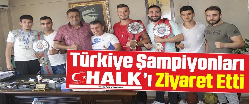 Türkiye Şampiyonları HedefHalk'ı Ziyaret Etti