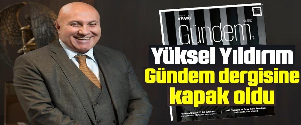Samsunspor FK A.Ş. Başkanı Yıldırım Gündem dergisine kapak oldu
