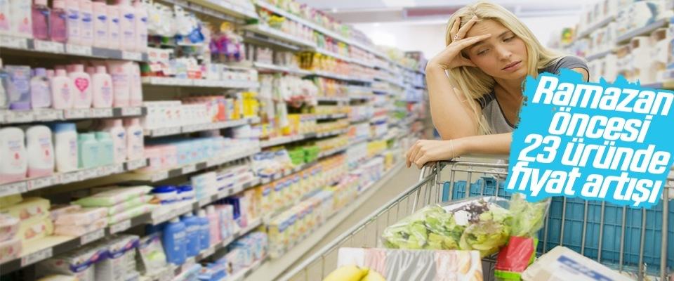 TZOB'dan ramazan öncesi gıda fiyatı araştırması