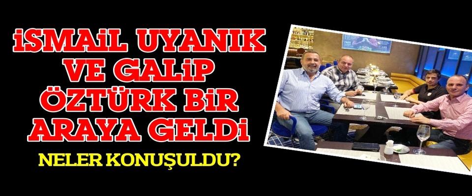 Samsunspor Kulübü Başkanı İsmail Uyanık, Gürcistan'da Galip Öztürk ile buluştu