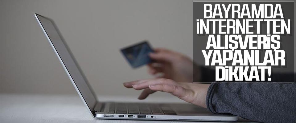 Bayramda internetten alışveriş yapanlar dikkat! TESK uyardı