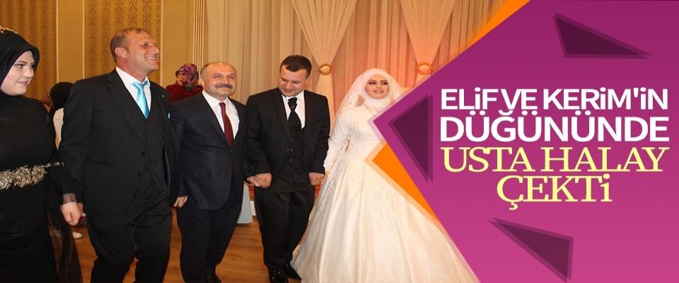 Elif ve Kerim'in Düğününde Usta Halay Çekti