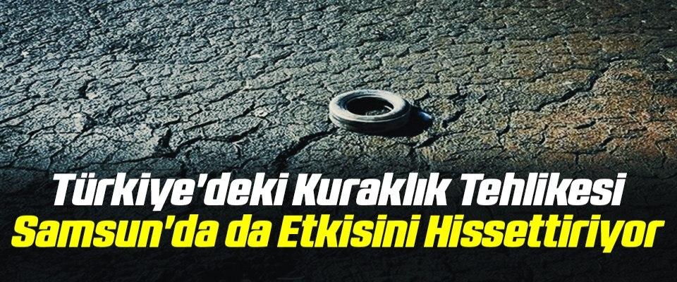 Türkiye'deki Kuraklık Tehlikesi Samsun'da da Etkisini Hissettiriyor