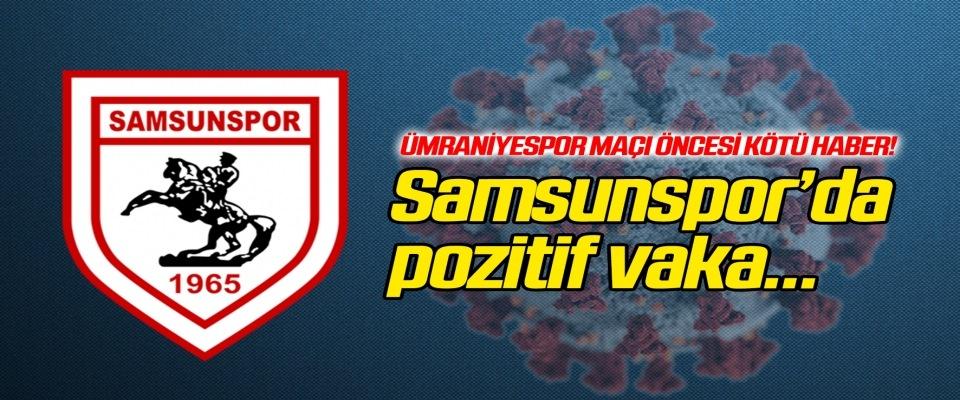 Yılport Samsunspor'da pozitif vaka