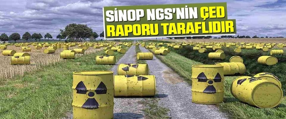 Sinop NGS'nin ÇED Raporu taraflıdır