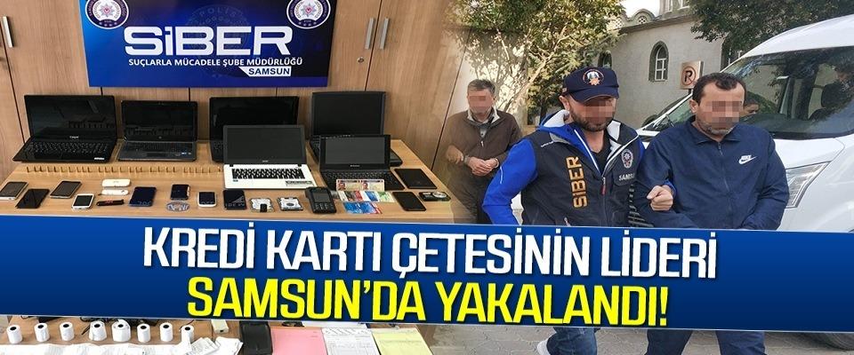 Kredi Kartı Çetesinin Lideri Samsun'da Yakalandı