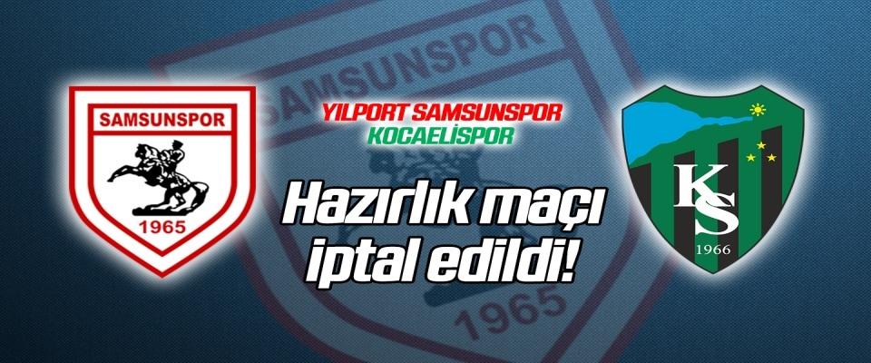 Samsunspor'da koronavirüs vakası! Hazırlık maçı iptal edildi...