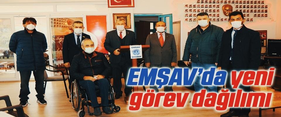 EMŞAV'da yeni görev dağılımı