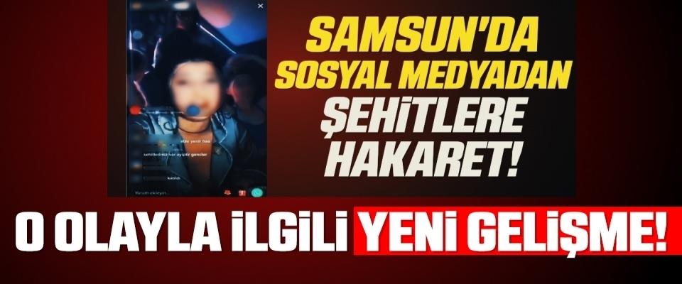 Samsun'da Sosyal medya üzerinden 'şehitlere hakaret eden' kadın adli kontrol şartıyla serbest bırakıldı