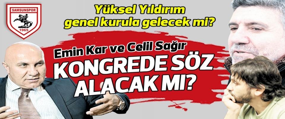 Samsunspor'da genel kurul sert geçebilir