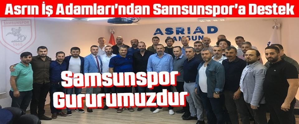 Asrın İş Adamları'ndan Samsunspor'a Destek