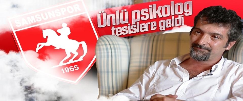 Samsunspor'a mental destek