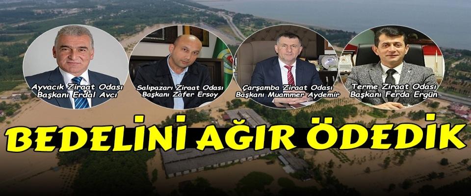 Ziraat Odası Başkanlarından SASKİ ve DSİ'ye Tepki!
