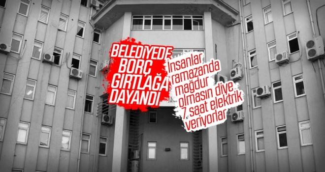 HDP'li Belediye Borç Batağında! Gün Boyunca Sadece 7 Saat Elektrik Kullanabiliyorlar