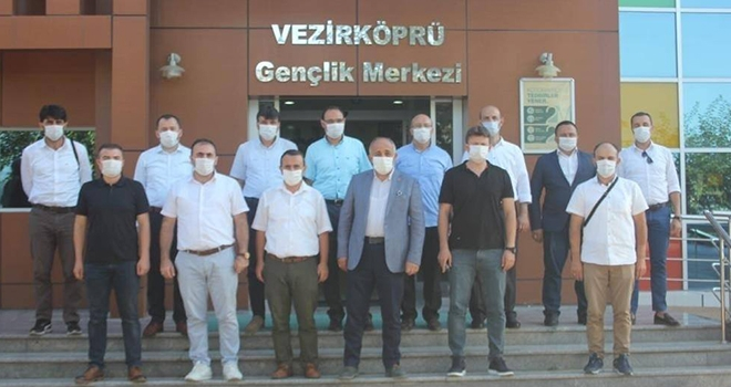 Gençlik Merkezi Müdürleriyle Önce Toplantı Sonra Gezi