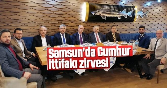 Samsun'da Cumhurİttifakı Zirvesi