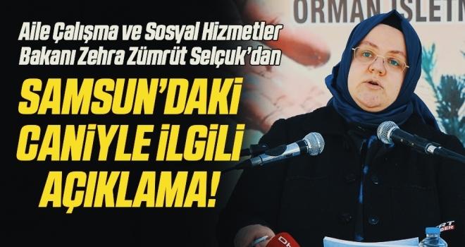 Bakan Selçuk: Samsun'da eşini darbeden caninin en ağır cezayı alması için hukuki süreçlerin takipçisi olacağız