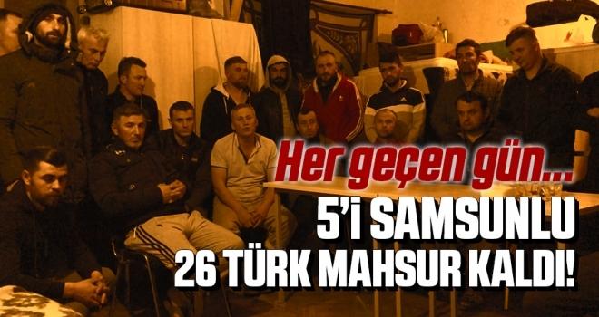 26 Türk İşçisi, CoronaVirüsü Nedeniyle Makedonya'da Mahsur Kaldı