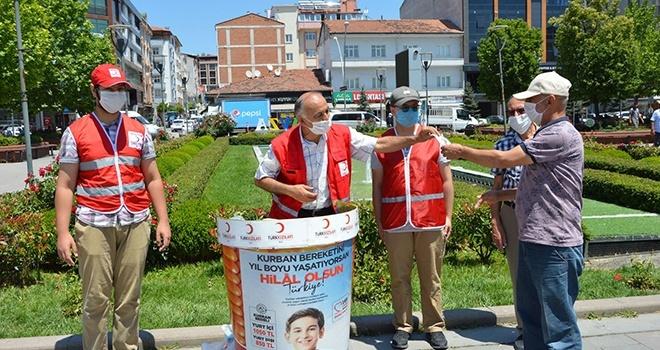 Kızılay'a kurban bağışı 'bin 50 TL'