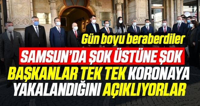 Samsun'da Şok Üstüne Şok! Başkanlar Tek Tek Koronaya Yakalandığını Açıklıyor!