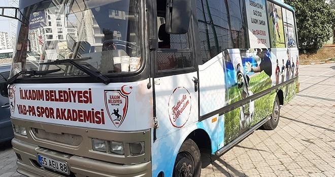 Yap-Pa'nın Kulüp Otobüsü Yeni Görünümüne Büründü