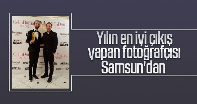 Yılın en iyi çıkış yapan fotoğrafçısı Samsun'dan