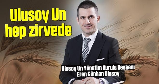 Ulusoy Un Hep Zirvede