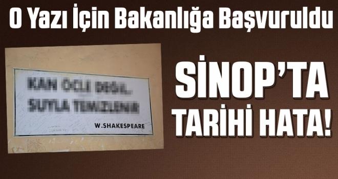 Sinop Cezaevi'nde 'TARİHİ HATA'