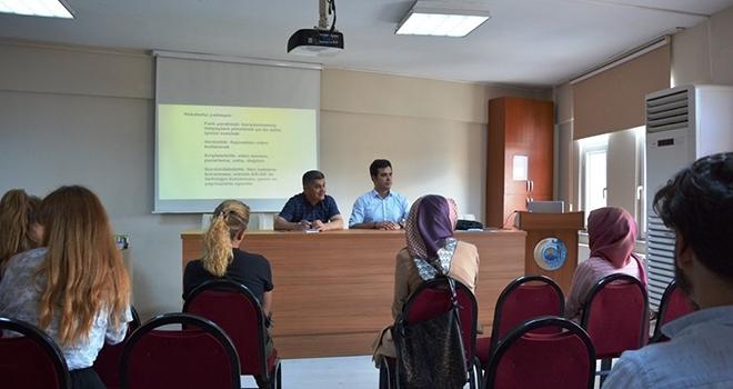 Bafralı gençlere girişimcilik eğitimi