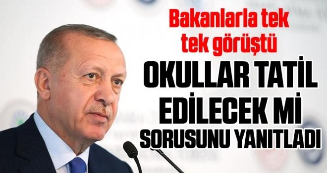 Cumhurbaşkanı Erdoğan'dan koronavirüs mesajları enerji ödemesinde erteleme olabilir