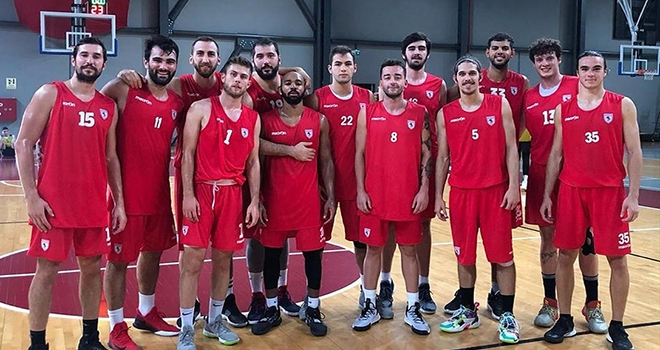 Samsunspor Basketbol Bornova'ya Hazır