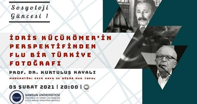"""Samsun Üniversitesi DÜSAM'da """"Sosyoloji Güncesi"""" başlıyor"""