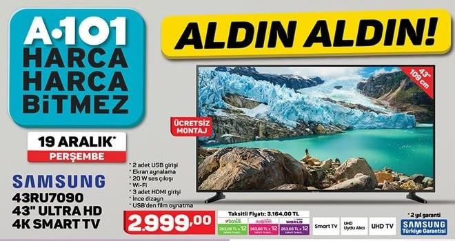 A101 19 Aralık aktüel ürünler kataloğu yayında! A101 aktüel ürünler kataloğunda neler var?