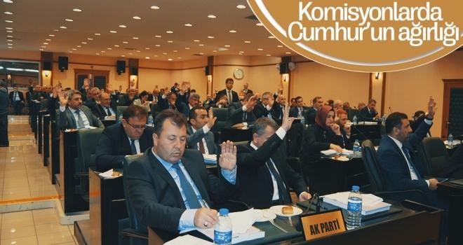 KomisyonlardaCumhur'un ağırlığı