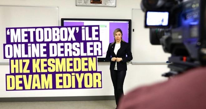 'Metodbox' ile online dersler hız kesmeden devam ediyor
