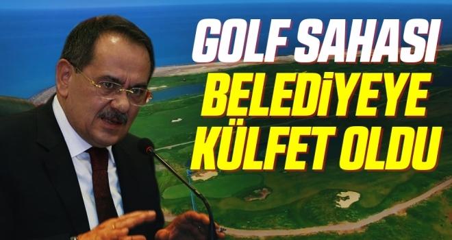 Golf Sahasıbelediyeyekülfet oldu